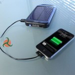 External Turbo Solar Battery Charger